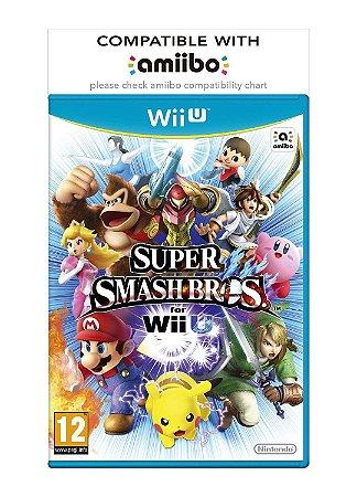 Jogo WiiU Usado Super Smash Bros.