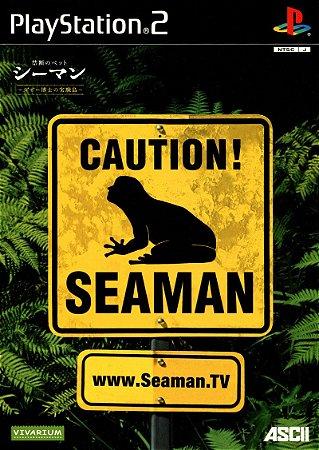 Jogo PS2 Usado Caution Seaman (JP)