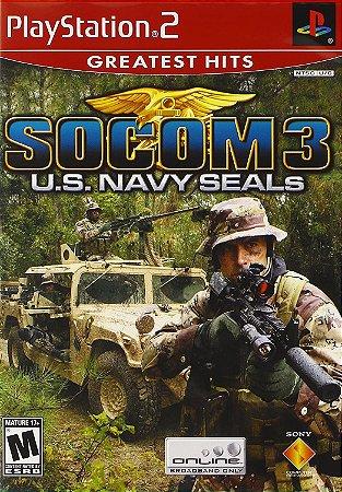Jogo PS2 Usado SOCOM 3 U.S. Navy SEALs