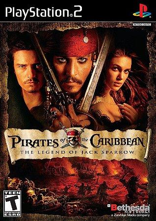 Jogo PS2 Usado Pirates of the Caribbean: The Legend of Jack Sparrow