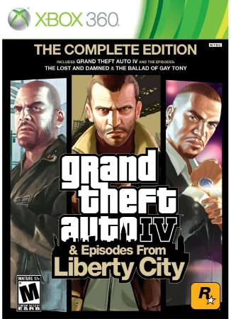 Jogo XBOX 360 Usado Grand Theft Auto IV The Complete Edition