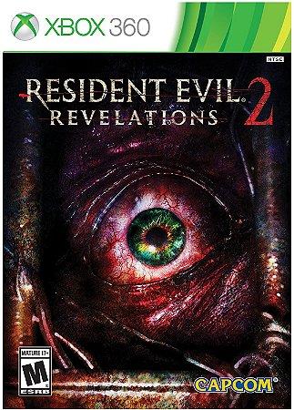 Jogo XBOX 360 Usado Resident Evil Revelations 2