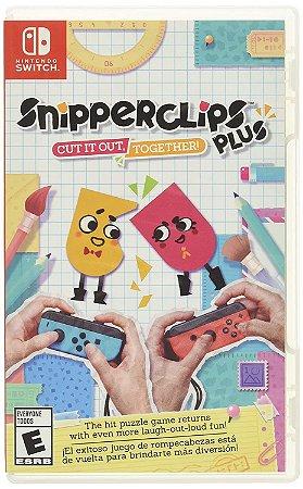 Jogo Switch Usado SNIPPERCLIPS PLUS