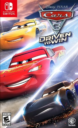 Jogo Switch Usado Cars 3 Driven To Win