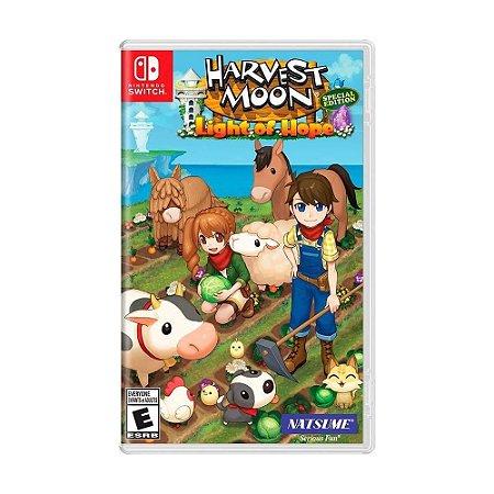 Jogo Switch Usado Harvest Moon Light Of Hope Special Edition