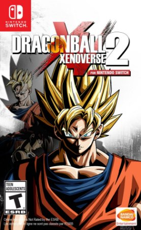 Jogo Switch Usado Dragon Ball Xenoverse 2