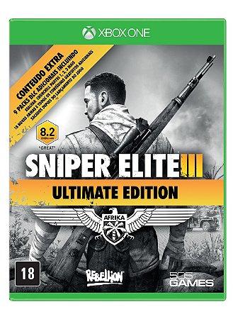 Jogo XBOX ONE Novo Sniper Elite 3 Ultimate Edition