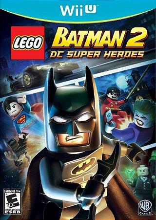 Jogo WiiU Usado LEGO Batman 2 DC Super Heroes