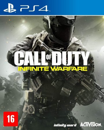 Jogo PS4 Novo Call Of Duty Infinite Warfare