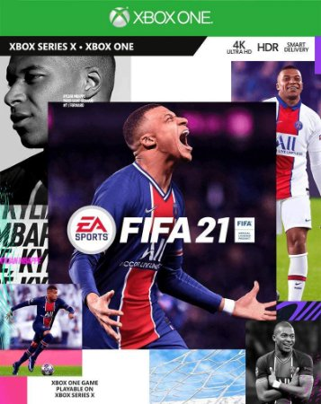 Jogo XBOX ONE Usado FIFA 21