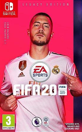 Jogo Switch Usado FIFA 20