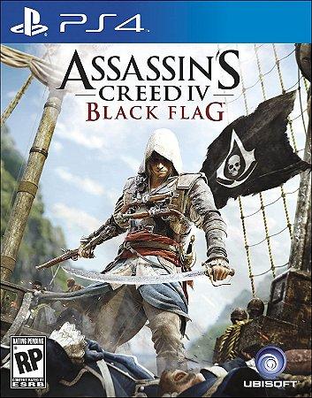 Jogo PS4 Usado Assassin's Creed IV Black Flag