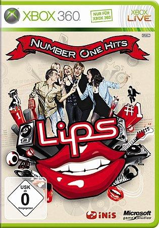 Jogo XBOX 360 Usado Lips: Number One Hits