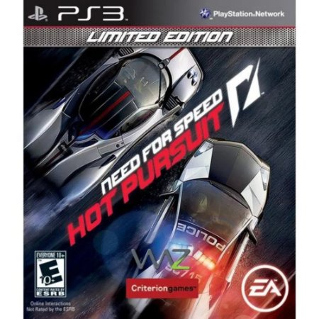 Jogo PS3 Usado Need for Speed Hot Pursuit Limited Edition