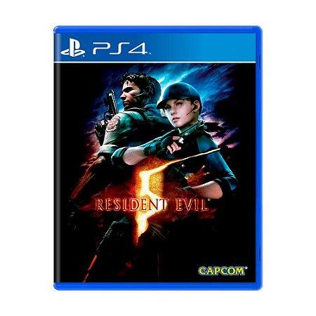 Jogo PS4 Usado Resident Evil 5