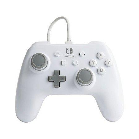 Controle Switch Novo PowerA  White