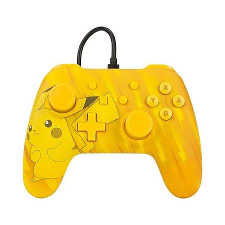Controle Switch Novo PowerA Pikachu Static