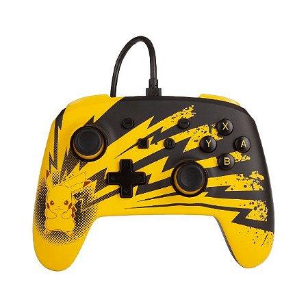 Controle Switch Novo PowerA Pikachu Lightning