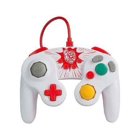 Controle Switch Novo PowerA GameCube Style Mario