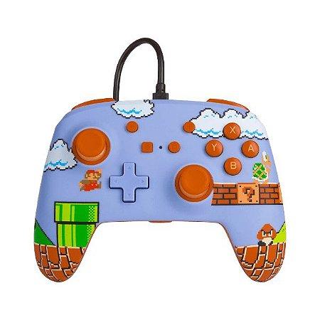 Controle Switch Novo PowerA Super Mario Bros.