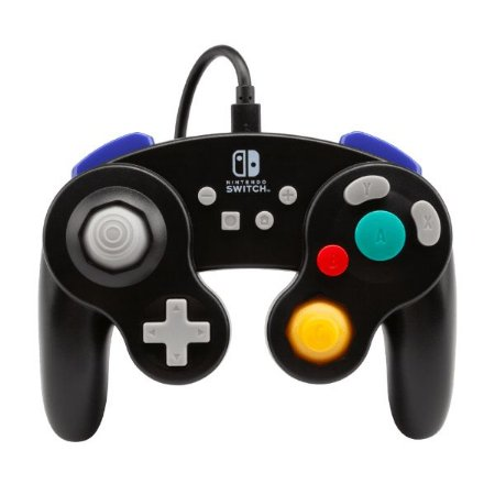 Controle Switch Novo PowerA GameCube Style Black