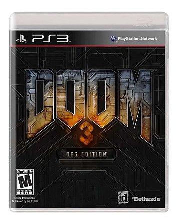 Jogo PS3 Usado Doom 3 BFG Edition