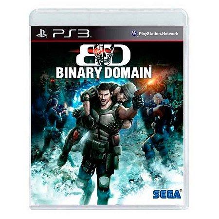 Jogo PS3 Usado Binary Domain