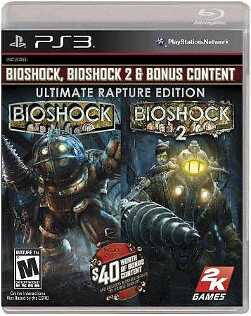 Jogo PS3 Usado Bioshock Ultimate Rapture Edition