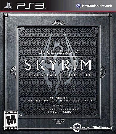 Jogo PS3 Usado The Elder Scrolls V: Skyrim Legendary Edition