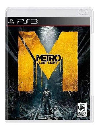 Jogo PS3 Usado Metro: Last Light