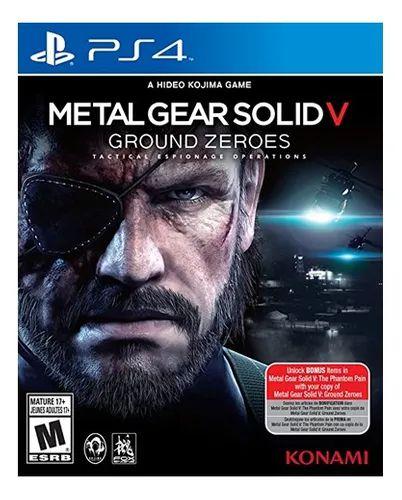 Jogo PS4 Usado Metal Gear Solid V: Ground Zeroes