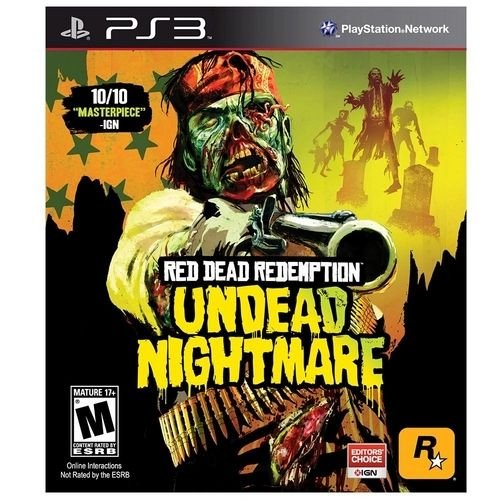 Jogo PS3 Usado Red Dead Redemption Undead Nightmare