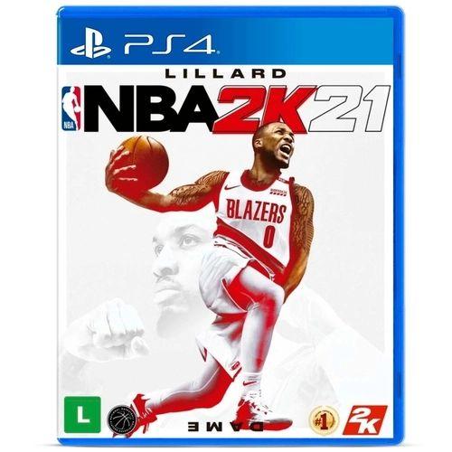 Jogo PS4 Usado NBA 2K21