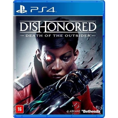 Jogo PS4 Novo Dishonored Death of the Outsider