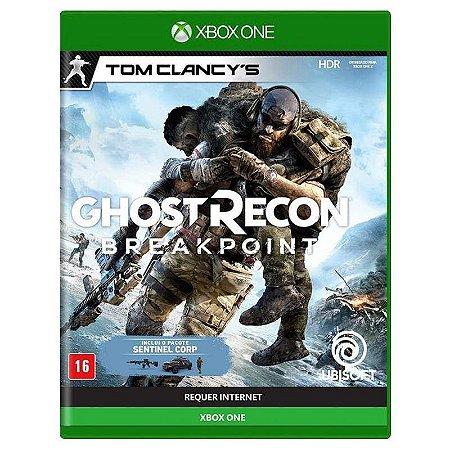 Jogo XBOX ONE Novo Tom Clancy's Ghost Recon: Breakpoint