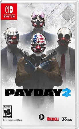 Jogo Switch Usado Payday 2