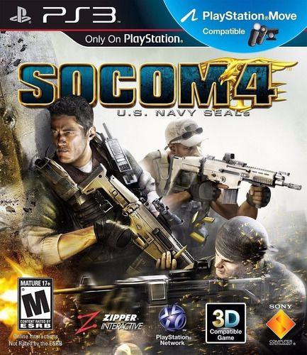 Jogo PS3 Usado Socom 4