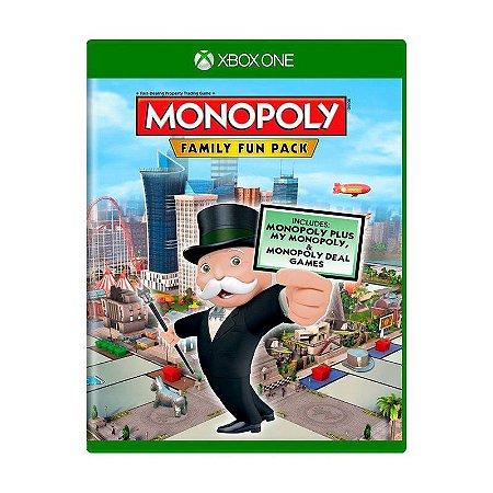 Jogo XBOX ONE Usado Monopoly Family Fun Pack