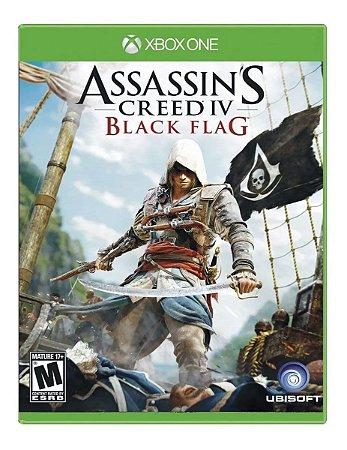 Jogo XBOX ONE Usado Assassin's Creed IV Black Flag