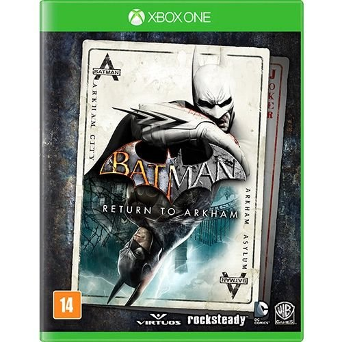 Jogo XBOX ONE Usado Batman: Return to Arkham
