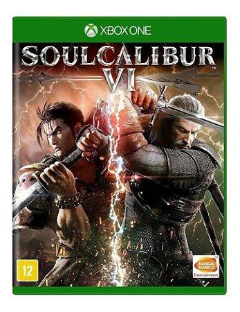 Jogo XBOX ONE Usado Soul Calibur VI
