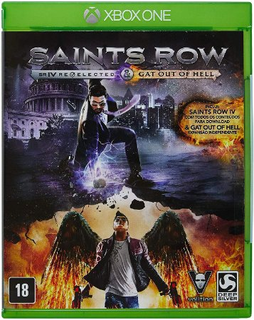 Jogo XBOX ONE Usado Saints Row IV: Re-Elected + Gat Out Of Hell