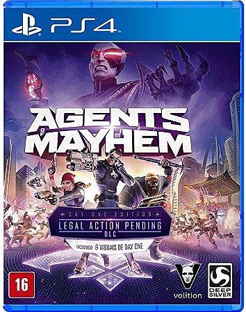 Jogo PS4 Usado Agents of Mayhem