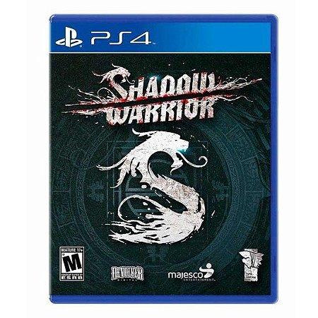 Jogo PS4 Usado Shadow Warrior