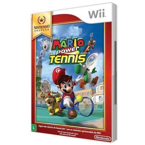 Jogo Wii Novo Mario Power Tennis (Nintendo Selects)
