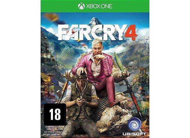 Jogo XBOX ONE Novo Far Cry 4