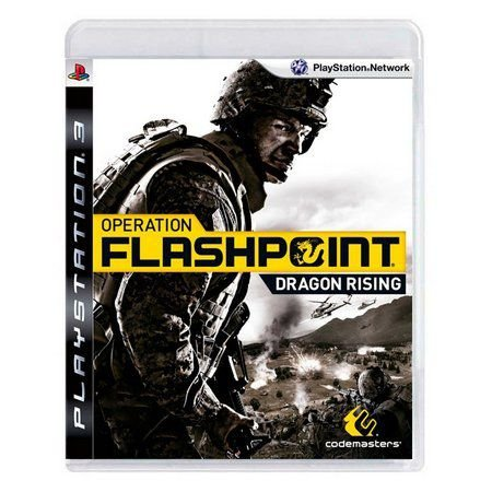Jogo PS3 Usado Operation Flashpoint Dragon Rising