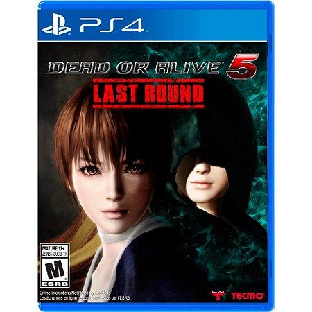 Jogo PS4 Usado Dead or Alive 5 Last Round