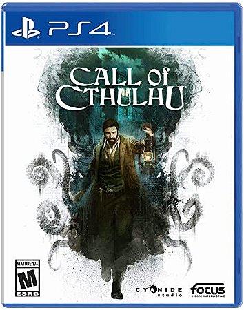 Jogo PS4 Usado Call of Cthulhu