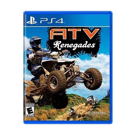 Jogo PS4 Usado ATV Renegades